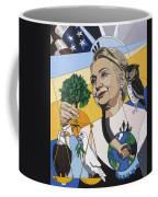 In Honor Of Hillary Clinton Coffee Mug by Konni Jensen
