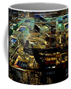 In Perspective - Fire Escapes - Old Buildings Of New York City Coffee Mug
