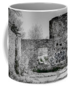 In Side The Boathouse Coffee Mug by Kathleen Struckle