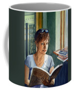 In The Book Store Coffee Mug