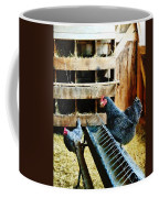 In The Chicken Coop Coffee Mug