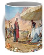 In The Desert Of Mount Sinai Coffee Mug