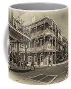 In The French Quarter Sepia Coffee Mug