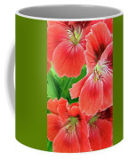 In The Garden. Geranium Coffee Mug