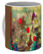 In The Garden  Square Coffee Mug