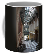 In The Hallway - Peabody Library Coffee Mug