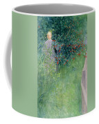 In The Hawthorn Hedge Coffee Mug