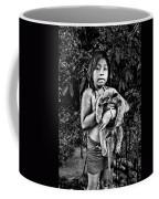 Girl With Oso Dormilon Coffee Mug