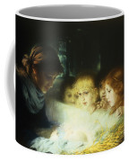 In The Manger Coffee Mug by Hugo Havenith