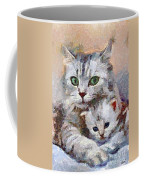 In The Mothers Embrace Coffee Mug