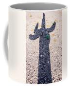 In The Shadow Of A Saguaro Cactus Coffee Mug