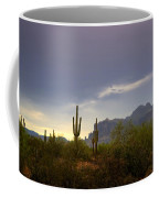In The Shadows Of The Superstitions  Coffee Mug