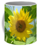 In The Sunflower Field Coffee Mug