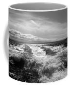 In The Wake In Black And White Coffee Mug
