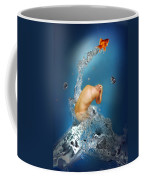 In The Water Coffee Mug by Mark Ashkenazi