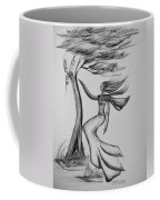 In The Wind She Dances Coffee Mug