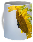 In The Wind - Sunflower Coffee Mug