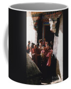 In Tibet Tibetan Monks 5 By Jrr Coffee Mug