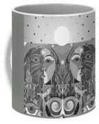 In Unity And Harmony In Grayscale Coffee Mug