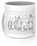 In What Appears To Be Biblical Times Coffee Mug