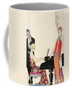 Incantation Coffee Mug by Georges Barbier