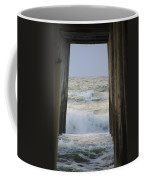 Incoming Tide At 32nd Street Pier Avalon New Jersey Coffee Mug
