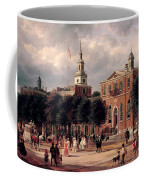 Independence Hall In Philadelphia Coffee Mug