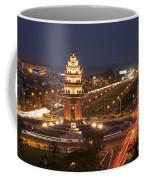 Independence Monument, Cambodia Coffee Mug