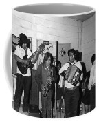 Indian Bar The Lucky Dollar  Tohono O'odham Chicken Scratch Band South Tucson Arizona 1975 Coffee Mug