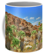 Indian Canyons View In Palm Springs Coffee Mug
