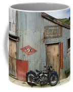 Indian Chout At The Old Okains Bay Garage 1 Coffee Mug