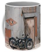 Indian Chout At The Old Okains Bay Garage 3 Coffee Mug