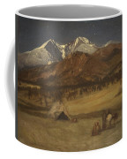 Indian Encampment - Evening Coffee Mug