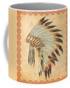 Indian Head Dress-a Coffee Mug