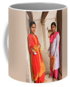 Indian Sewing Students Coffee Mug
