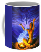 Indian Wolf Spirit Coffee Mug