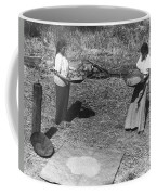 Indian Women Winnowing Wheat Coffee Mug
