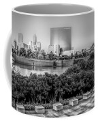 Indiana - Downtown From Across White River Panoramic Coffee Mug