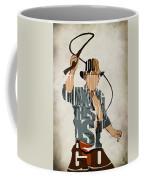 Indiana Jones - Harrison Ford Coffee Mug by Ayse Deniz