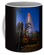 Indiana - Soldiers And Sailers Monument With Lights Coffee Mug