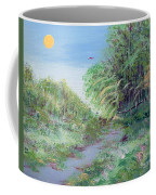 Indiana Spring Afternoon By The Creek Coffee Mug