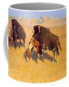 Indians Simulating Buffalo Coffee Mug