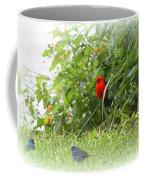 Indigo Bunting And Scarlet Tanager 2 Coffee Mug