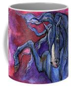 Indigo Horse 1 Coffee Mug