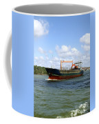 Industrial Cargo Ship Coffee Mug