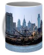 Industrial Philadelphia Coffee Mug by Olivier Le Queinec