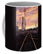Industrial Rail Yard Coffee Mug