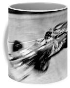 Indy 500 Race Car Blur Coffee Mug