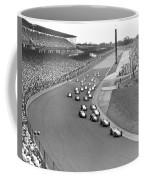 Indy 500 Race Start Coffee Mug