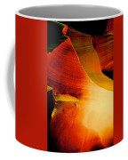 Inferno In Lower Antelope Canyon-az Coffee Mug